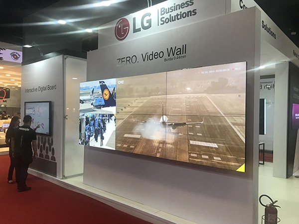 VideoWall Borda Zero